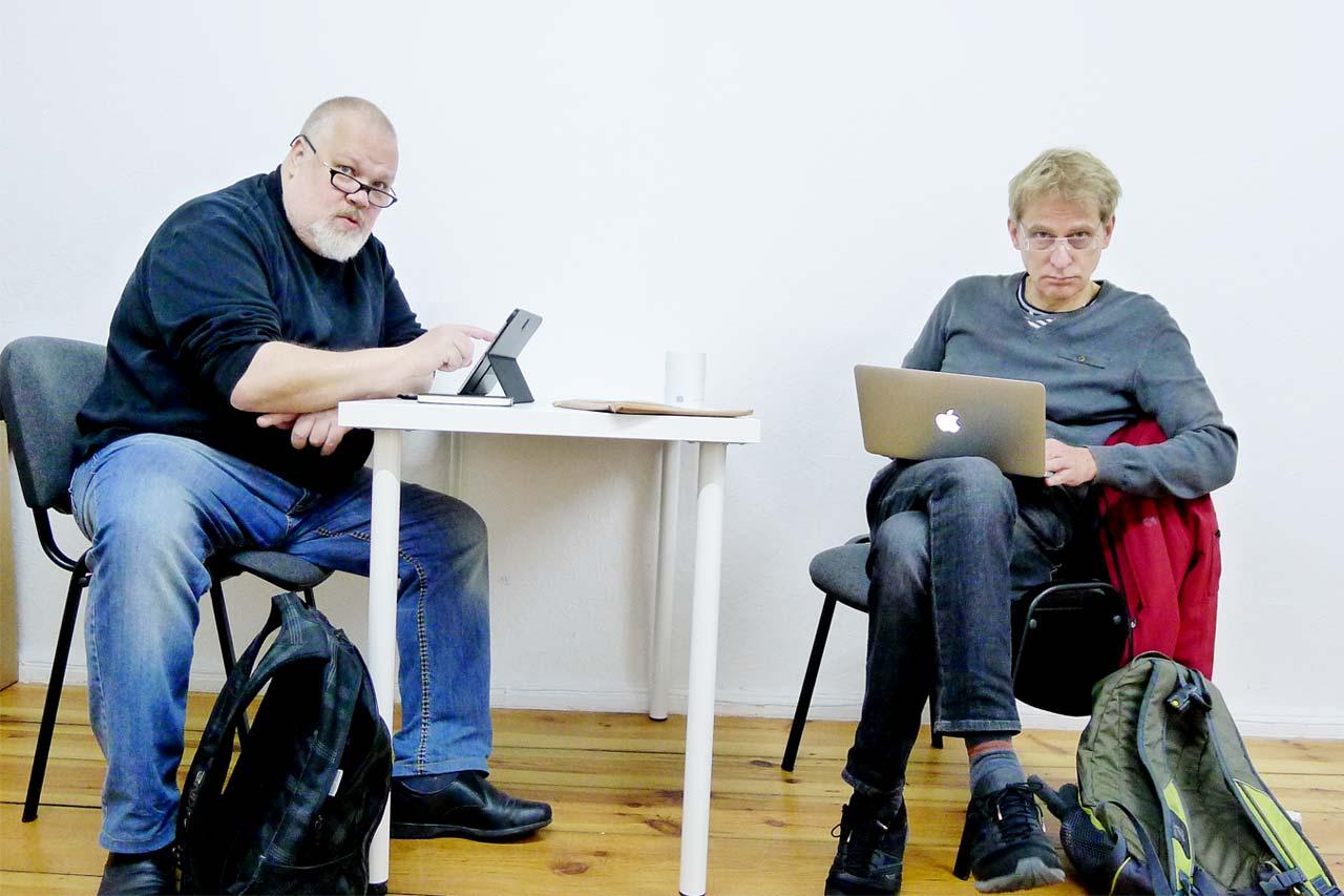 Henrik HAX Alexandersson och Oscar Swartz